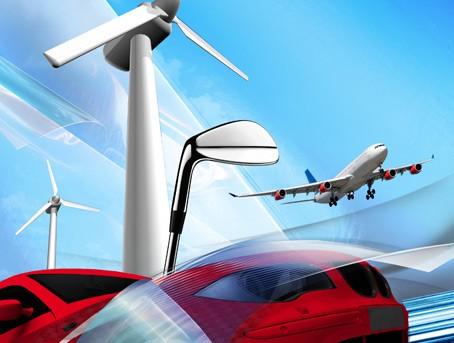 Leicht und doch fest: In Flugzeugen, im Motorsport oder für Sportgeräte wird auch HOSTAPHAN® verwendet.
